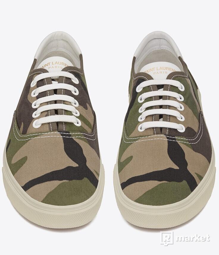 Yves Saint Laurent - camo shoes