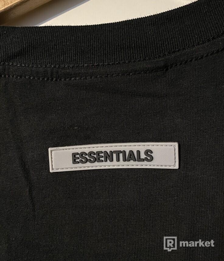 Essentials fear of god tee tričko