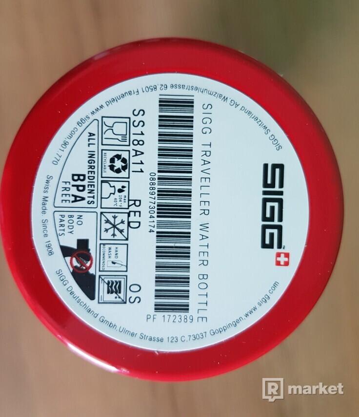 Supreme SIGG bottle ss18 red DSWT