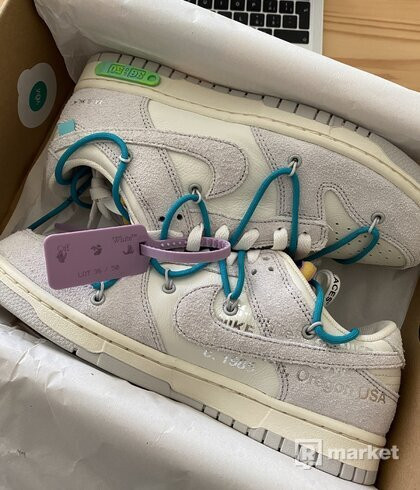 Nike Dunk Low x OW lot 36