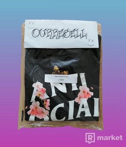 ASSC Kkoch Black Tee DS