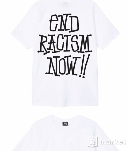 Stussy End Racism Now Tee