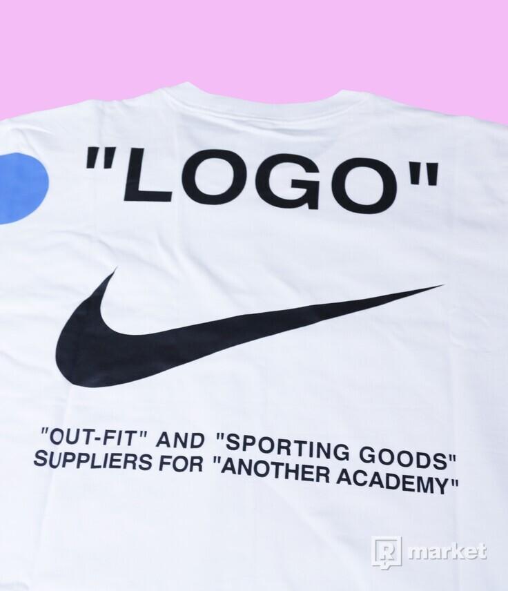 NikeLab x OffWhite Mercurial NRG tee white