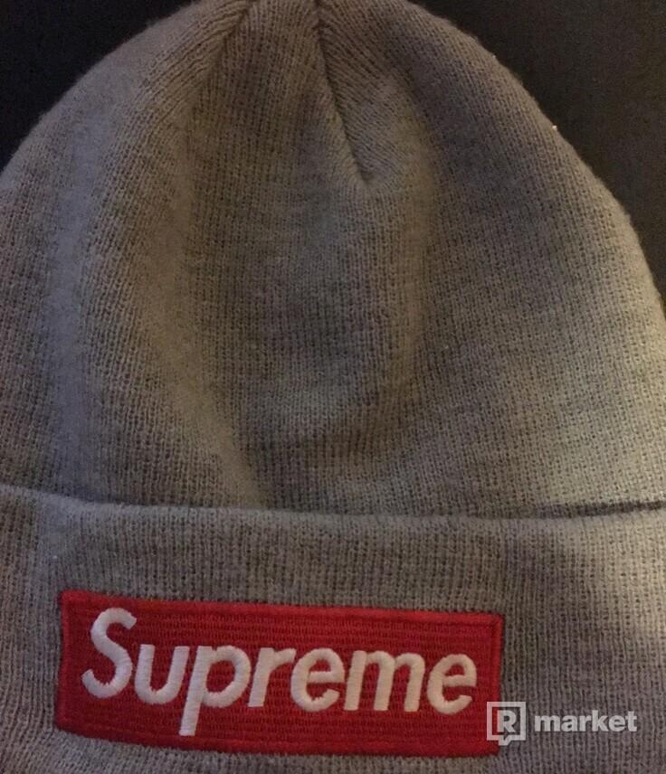 Supreme box logo beanie SS15