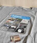 "Supreme ""Verify tee"" Grey"