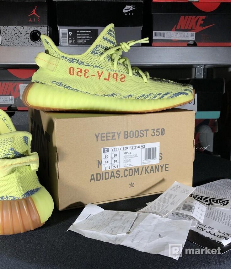"Adidas Yeezy Boost 350 V2 ""Semi Frozen Yellow"""