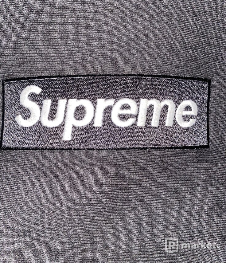 Supreme Box Logo Crewneck Black
