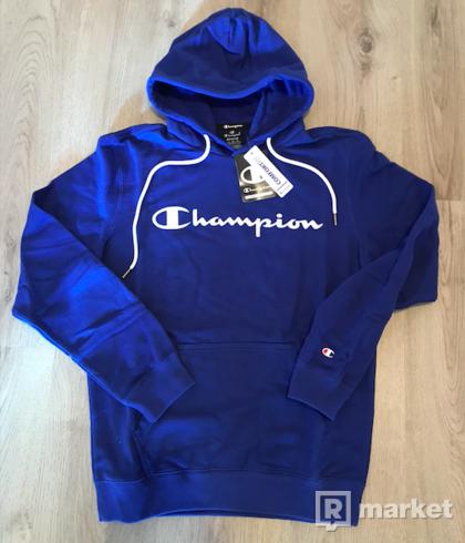 champion panska mikina blue