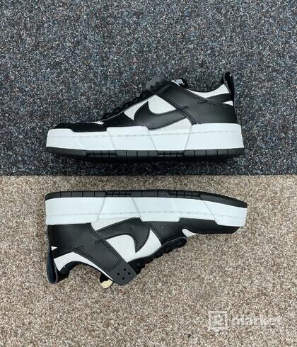 Nike Dunk Low Disrupt Black White