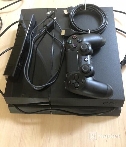 Predám Playstation 4 slim 500gb + Ps4 kamera