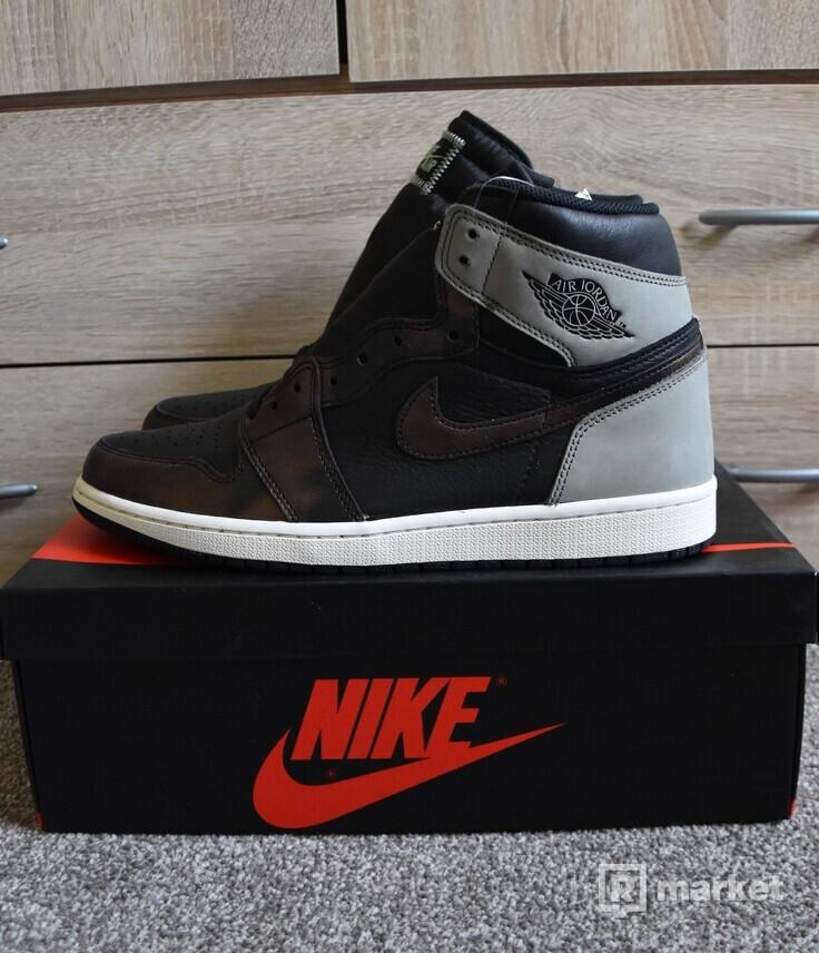 Nike Air Jordan 1 High Patina Rust Shadow