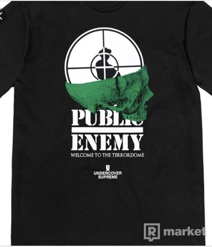 Supreme x public enemy