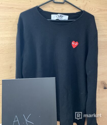Comme Des garcons Play Knitwear