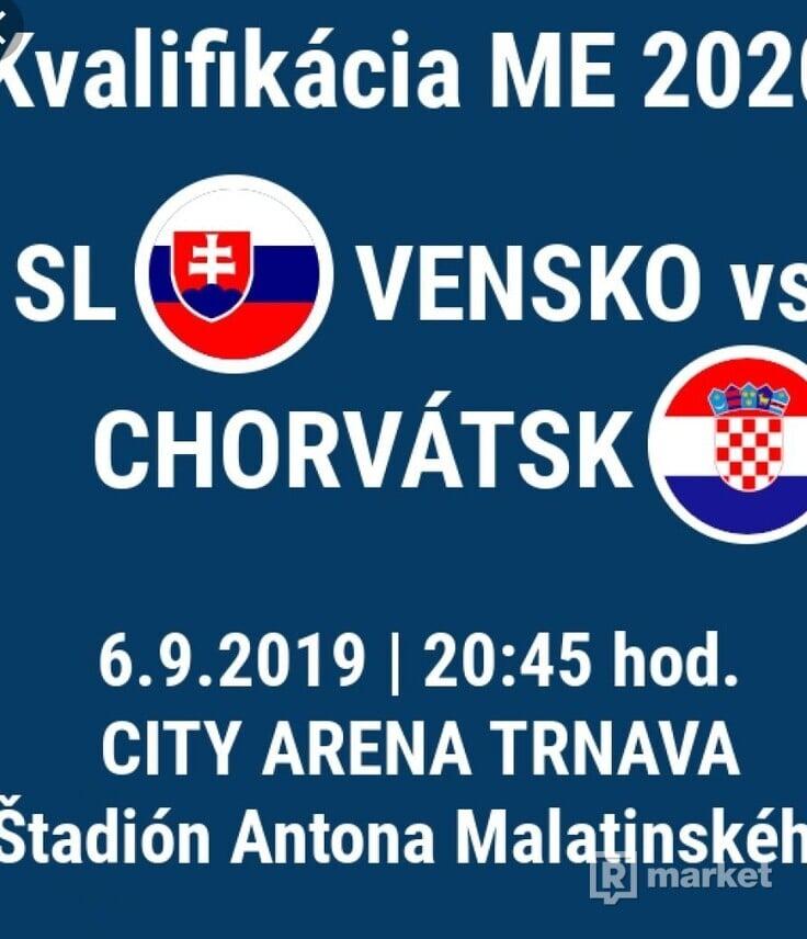 Listky na futball Chorvatsko vs Slovensko