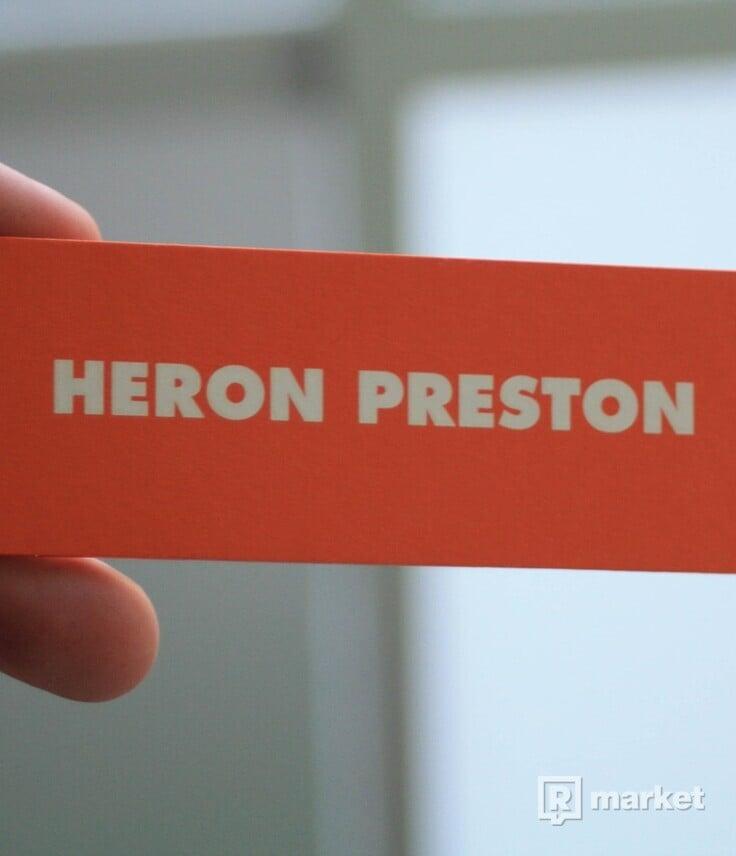 Heron Preston painting tee