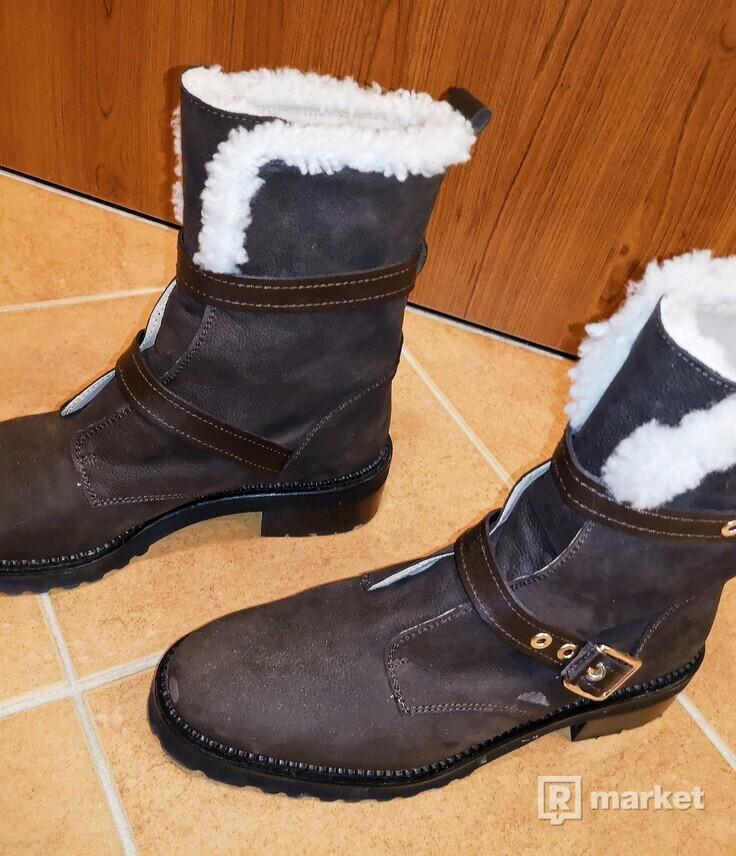Predám zimné topánky Massimo Dutti