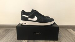 NIKE AIR FORCE 1 LOW SUPREME X COMME DES GARCONS BLACK