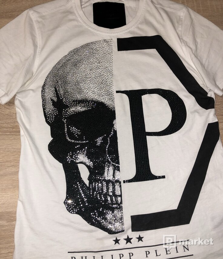 Philipp Plein round neck T shirt M