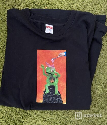 Supreme Mike Hill Brains tee black