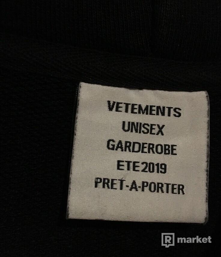 Vetements Target hoodie