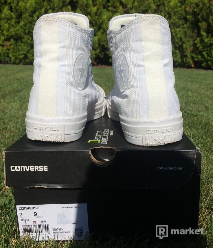 Predám Converse Chuck Taylor All Star II Engineered Woven White ... 24468826a2c