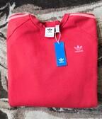 Adidas Originals 3 - Stripes Crewneck RedOrange