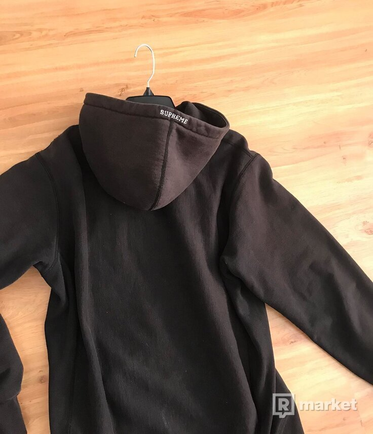 Supreme S Logo Hooded Sweatshirt (FW18) Black