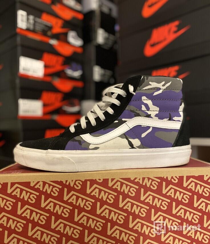Vans purple camo