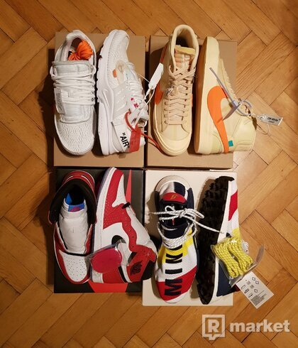 Off White & Jordan & NMD & Supreme