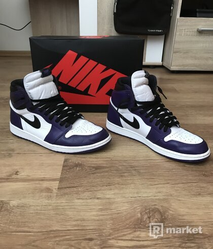 Air Jordan 1 high OG Court Purple 2.0