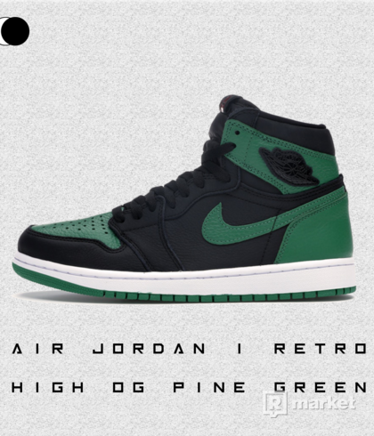 "Air Jordan 1 Retro High OG "" Pine Green """