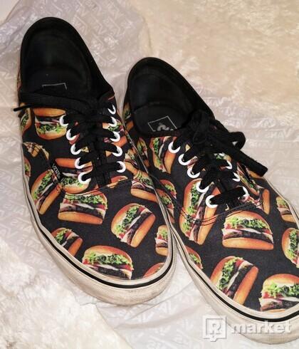 Predám tenisky Vans Authentic Hamburgers