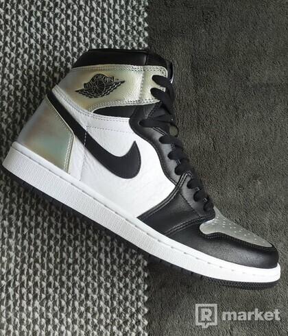 Nike Jordan 1 Silver Toe