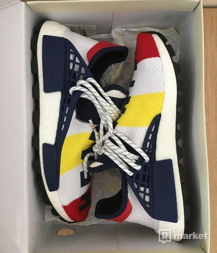 Adidas NMD Hu Pharrell x Billionaire Boys Club Multi-Color