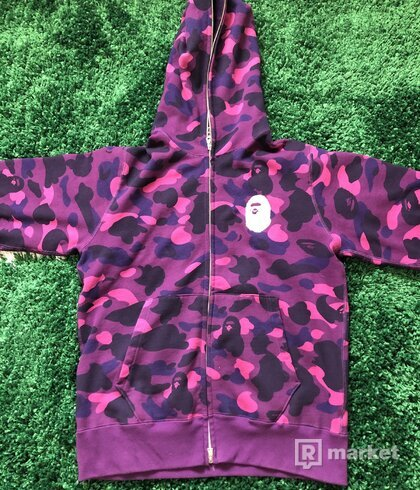 Bape Color Camo Full Zip