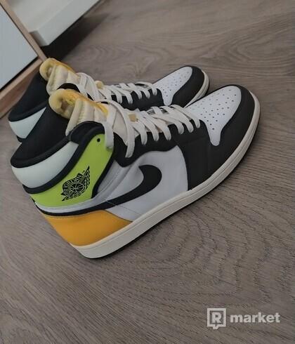 Air Jordan 1 high Volt/Gold