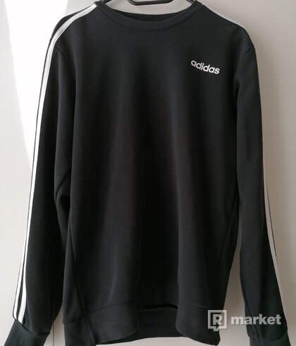Adidas black crew neck