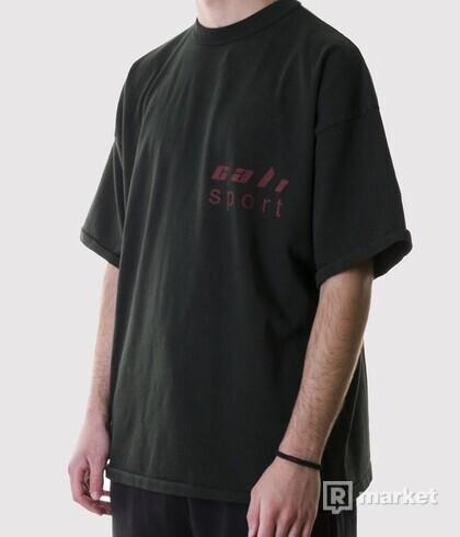 YEEZY SEASON 5 - CALI SPORT TEE dark green, FITUJE XL