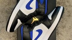 Nike Air Jordan 1 MID Racer Blue