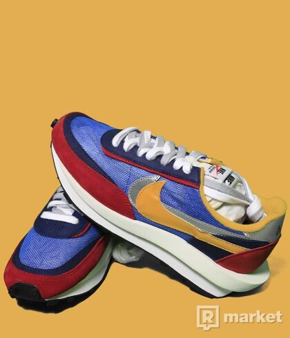 Nike x Sacai waffle blue