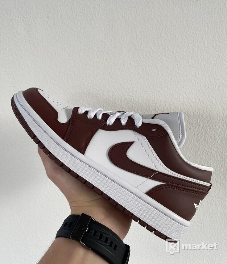 Nike Air Jordan 1 Low Team Red (W) EU 37.5-40.5