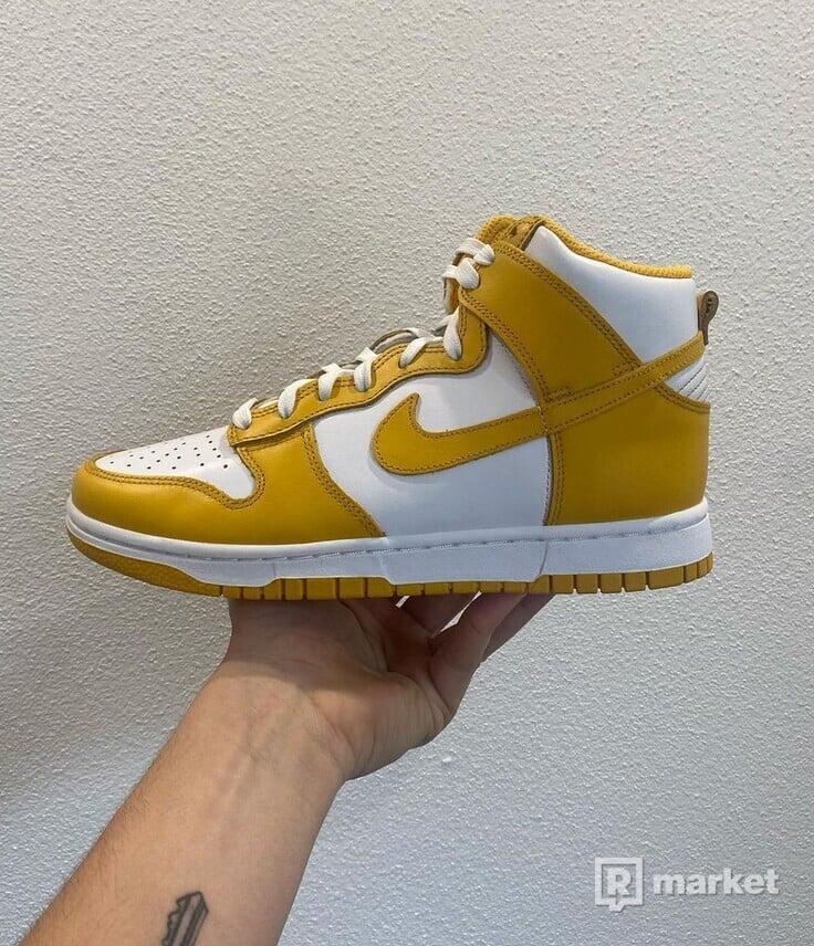 Nike Dunk High Dark Sulfur(W)