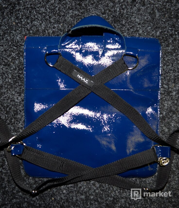 HAAZ kožený ruksak