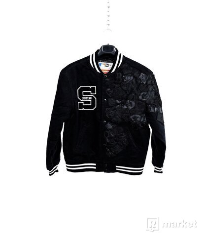 Supreme x New Era MLB V Jacket