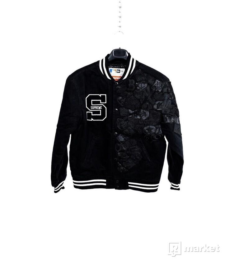 Supreme x New Era MLB V Jacket