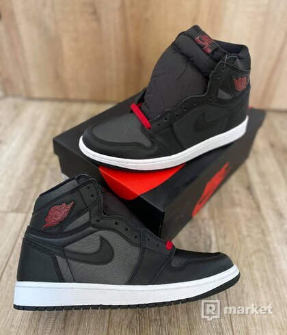 air jordan black satine