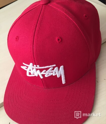 Stussy Stock SP16 Red
