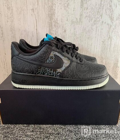 Nike Air Force 1 Low Computer Chip Space Jam (US 6,5)