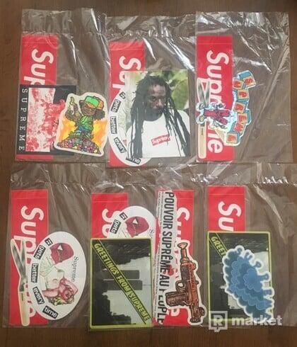 SUPREME stickers packs
