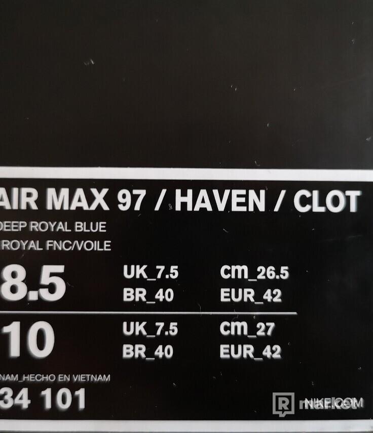 Nike air max 97 haven clot